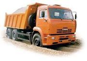 Услуги самосвала 20 тонн,  40 тонн в Витебске